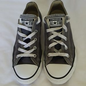 Converse Gray All Star Youth Unisex Sneaker 3